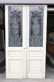 louis xv etched glass doors door