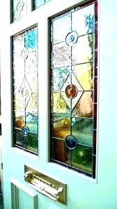 stained glass doors inserts leaded front door stain custom elsime stained glass door inserts stained glass