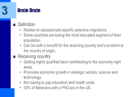 short essay brain drain