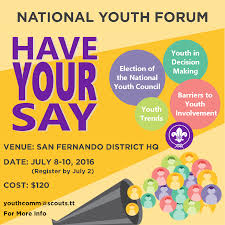 flyers forum scout association of trinidad tobago news scouts tt hosts