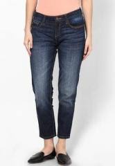 Jealous 21 Blue Ankle Length Jeans For Women Price In India