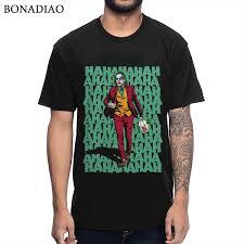 T Shirt Design Phoenix Us 10 89 43 Off Joaquin Phoenix The Joker T Shirt Unique Design Movie T Shirt On Aliexpress