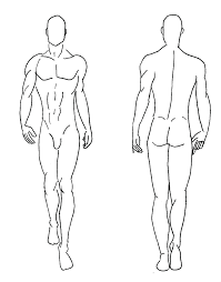 Costume Drawing Template Costume Design Template Male