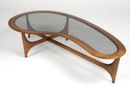a lane furniture co kidney shaped