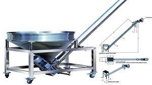 Powder Transfer System Design Screw Conveyor Auger Conveying System Auger Feeder For Powder Filling Packing Schneckenförderer