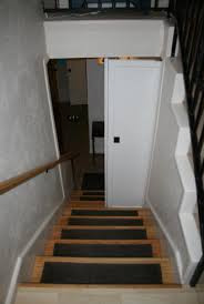 Unfinished Basement Laurel Lynn Productions Laurels Adventures In Home Repair Stair Door