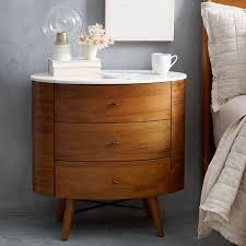 bed side furniture. Penelope 3-Drawer Bedside Table Bed Side Furniture F