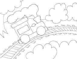 They're great for all ages. Toy Train Coloring Page Wee Folk Art