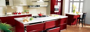 kitchen. U Shaped Modular Kitchen