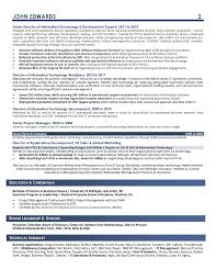 resume for it company samples executive resume services
