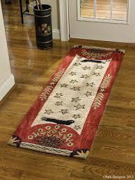 bath mats 24 x 72 park designs folk crow hooked rug runner x bath rug 24