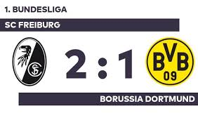 So verfolgen sie das spiel live im tv, stream und ticker. Sc Freiburg Borussia Dortmund Freiburg Bezwingt Dortmund Rheinfussball