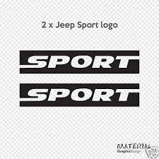 jeep wrangler sport logo. Simple Logo Image Is Loading 2xJeepSportlogoStickerDecal4LWRANGLER Throughout Jeep Wrangler Sport Logo O