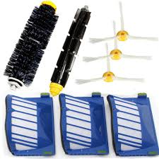 8pcs replacement brush filter kit for 600 series vacuum cleaner accessories replacement cod