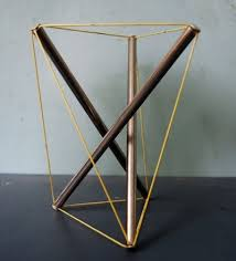 tensegrity furniture. interesting furniture the 5bar twisted prism needs only tough cord taut but without the extreme  prestress needed to firm up any nbar free tensegrity with less than 5n  5  intended tensegrity furniture