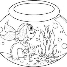 Small Picture My Fish Bowl Coloring Page My Fish Bowl Coloring Page Color Nimbus