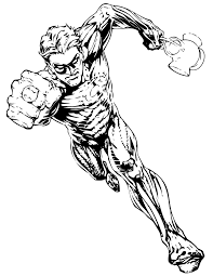 Small Picture Green Lantern For Older Children Coloring Page H M Coloring Pages