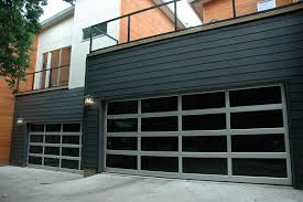 contemporary style garage doors repair replace affinity garage doors az