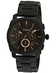 fossil watches buy fossil watches online at best prices in fossil machine chronograph analog black dial men s watch fs4682