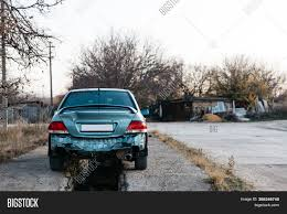 Car Without Bumper, Image & Photo (Free Trial) | Bigstock