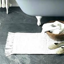 farmhouse style bathroom rugs rustic farmhouse bathroom rugs mixed weave bath mat style