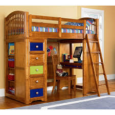Charleston Storage Loft Bed with Desk Espresso | Bunk Beds with Loft and  Desk | Charleston