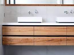 custom timber vanities bringing warmth