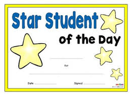 Star Student Certificates Star Student Certificates