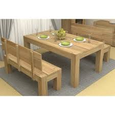 atlas chunky oak hidden home. atlas dining table kitchen with bench seats chunky oak hidden home t