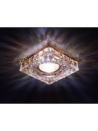 <b>Точечный светильник</b> S251 BR хром/коричневый хрусталь/MR16 ...