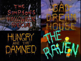 Watching The Simpsonsu0027 Treehouse Of Horror By OtterAndTerrier On Simpsons Treehouse Of Horror Raven