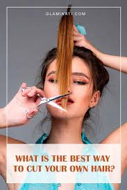 how to cut your own hair a pro guide