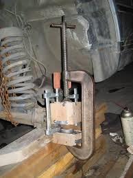 ball joint press tool. in-car ball joint press by cornblatt -- homemade capable of tool