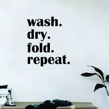 laundry room wall decal quotes on wanelo
