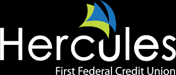 hercules logo with their aqua blue and lime green logo