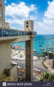 Elevador Lacerda elevator in Salvador do Bahia Brazil Stock Photo - Alamy