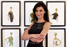 Interview Of A Fashion Designer Interview Fashion Designer Alessandra Vicedomini