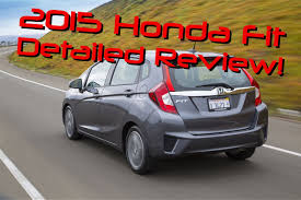 2015 Honda Fit Detailed Review and Road Test - YouTube