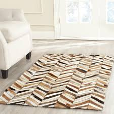 stylish leather area rugs t austin design sequoyah leather area rug reviews wayfair