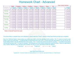 School Work Reward And Completion Chart Free Printable