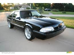 1992 Black Ford Mustang LX 5.0 Coupe #17251468 Photo #15 ...