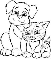 Small Picture New Printable Animal Coloring Pages 94 For Line Drawings with
