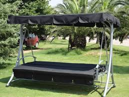 Garden Hammock Swing Bed With Canopy (qf-6311b) - Buy Outdoor Canopy Swing  Bed,Hammock Swing Bed,Swing Bed With Metal Frame Product on Alibaba.com