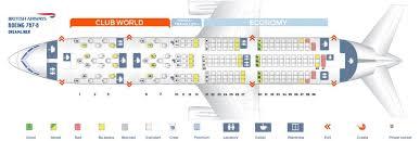 Boeing 787 8 Dreamliner Seating Chart British Airways Fleet Boeing 787 8 Dreamliner Details And