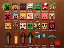 Minecraft Perler Bead Patterns