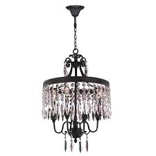 awful 4 light crystal chandelier hemera 4 light crystal chandelier by wellyer