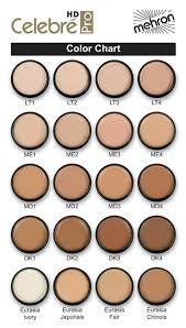Ben Nye Color Chart Ben Nye Cake Foundation Color Chart Color Chart For Makeup
