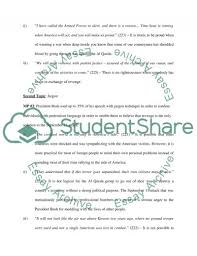the use of doublespeak in bush s speech essay the use of doublespeak in bush s 9 11 speech essay example