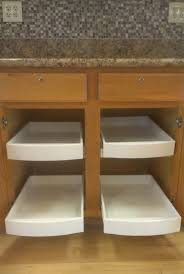 diy slide out shelves kitchen cabinets how to build pull for install