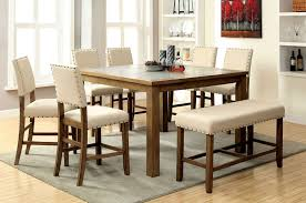high dining room set. #cm3531pt melston counter height dining room set with bench high d